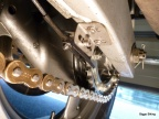 nozzle on swing arm