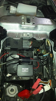 GPS unit container pump and junction box